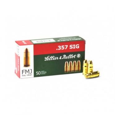 Náboje Sellier & Bellot .357 SIG FMJ 9,0g