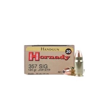 Náboje Hornady .357 SIG XTP 124gr