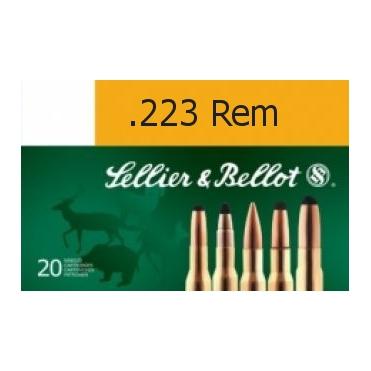 Náboje Sellier & Bellot .223 Rem. FMJ 3,6g