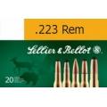 Sellier & Bellot .223 Rem. FMJ 3,6g, 20 ks