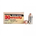 Hornady .45 ACP FTX CD 185gr